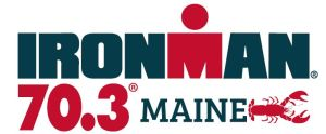 IronMan 70.3 Maine - Race insights - Race logo white