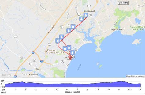IronMan 70.3 Maine - Race insights - Run course