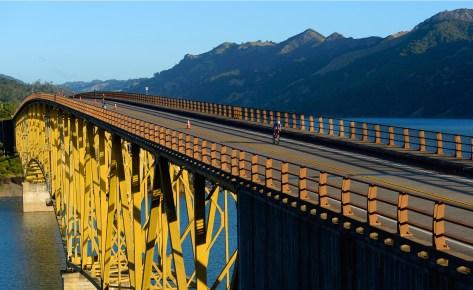 IronMan 70.3 Santa Rosa  bridge