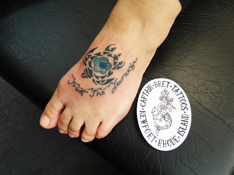 Tribal Wave Armband Tattoo