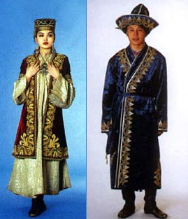 Vintage UzbekTajik Full Length Silk Tunic