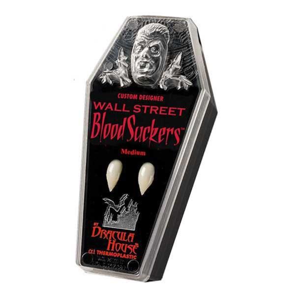 Custom Designer Wall Street Blood Suckers Dracula House Fangs