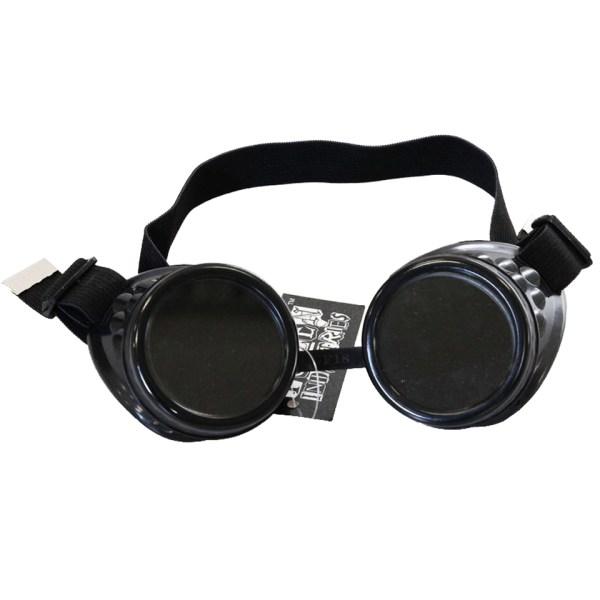 Poizen Industries Steampunk Cyber Goggles Black