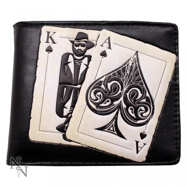 Vegas Playing Cards Wallet Motorhead