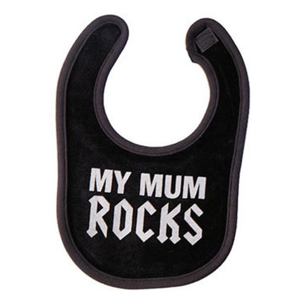 My Mum Rocks Baby Bib