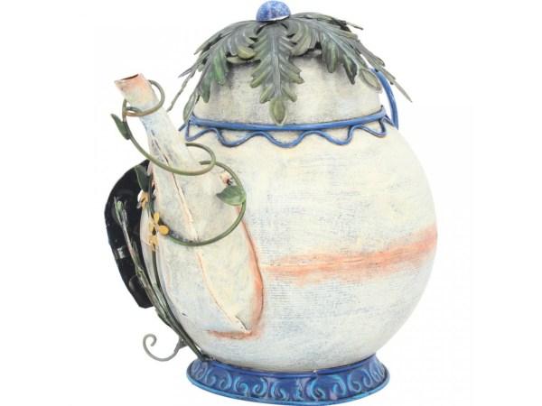 Tubby Teapot Fairy Garden House