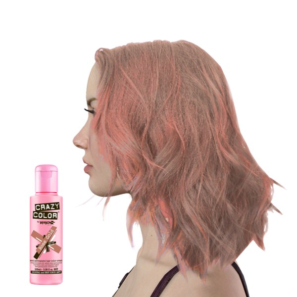 Crazy Colour Rose Gold Hair Dye