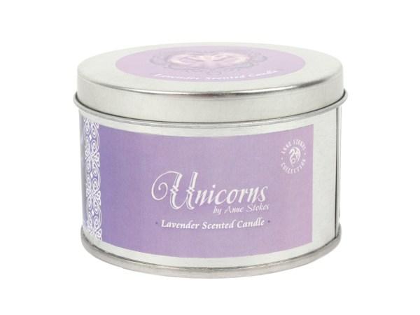 Pure Magic Unicorn Tin Candle Lavender Anne Stokes