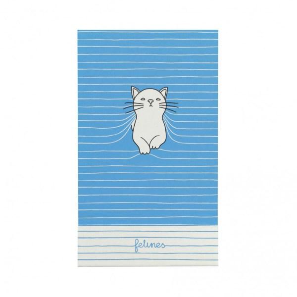 Santoro Felines Matchbook A7 Notebook Cat Purrrfect Place