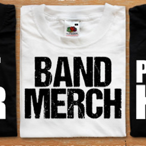 Band Merch Clothing & Accessories