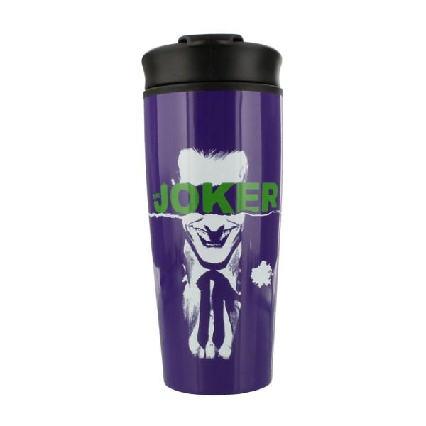 DC Comics Universe The Joker Straight Outta Arkham Gotham Metal Travel Mug Pyramid International Drinkware Kitchenware Home Decor Cartoon Suicide Squad Birds Of Prey