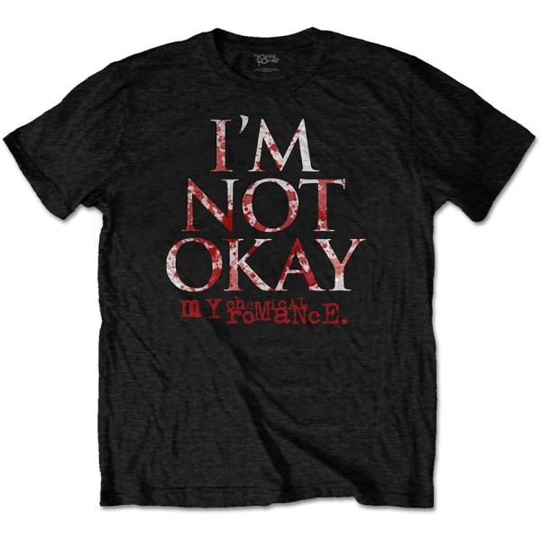 My Chemical Romance I'm Not Okay Iconic Band T-Shirt Merch Music Rock Emo
