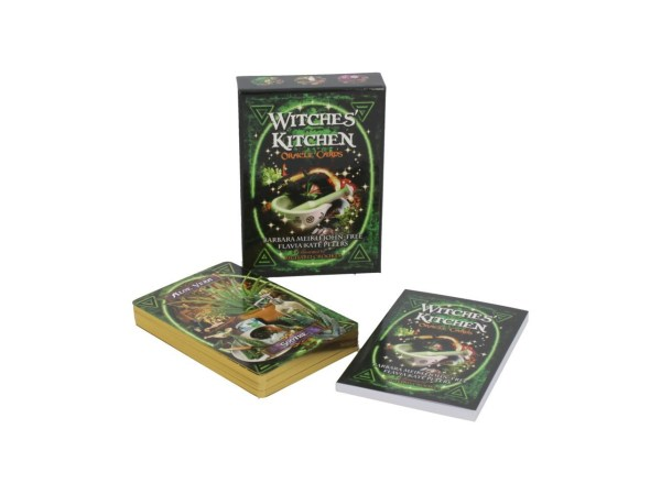 Witches' Kitchen Oracle Cards Natural Ingredients Recipes Herb Plant Medicine