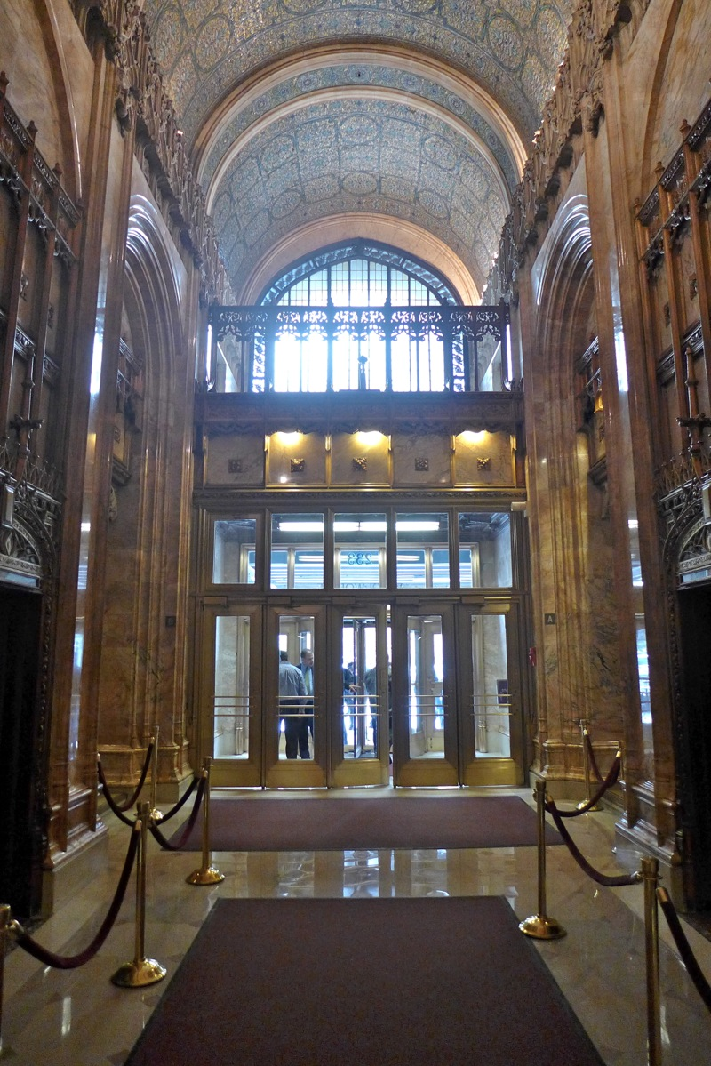 Tribeca Citizen  Inside the Woolworth Buildings Lobby