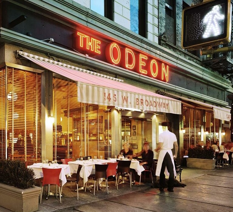 Tribeca Citizen  In the News The Odeon Is Hot Again