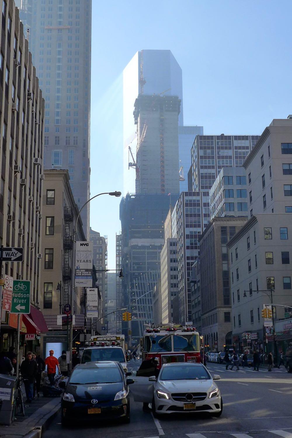 Tribeca Citizen The World Trade Center Light Show