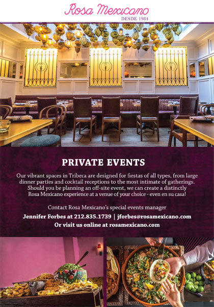 Tribeca Citizen Best Bets For Private Events In Tribeca