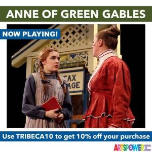 ArtsPower OnLine - Anne Of Green Gables - Available Now through Dec. 31 @ Online (ArtsPower Theatre OnDemand)