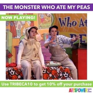 ArtsPower OnLine - The Monster Who Ate My Peas -Available Now through Dec. 31 @ Online (ArtsPower Theatre OnDemand)