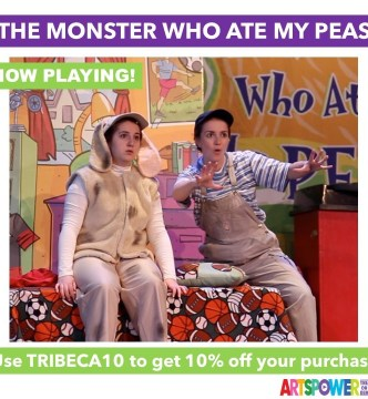 ArtsPower OnLine - The Monster Who Ate My Peas -Available Now through June 30