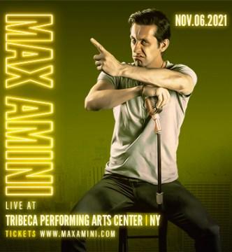 Max Amini Live in New York