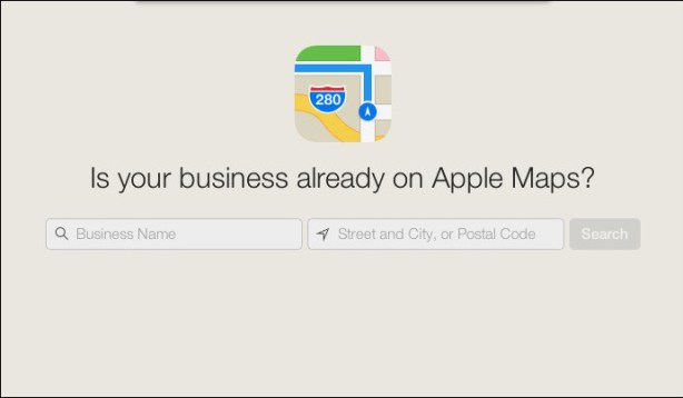 Add-your-Business-To-Applemaps
