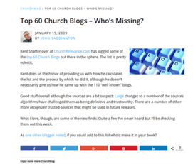 Blog-for-Churches