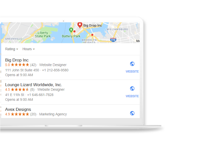 Local SEO for Web and Graphic Design Companies citations