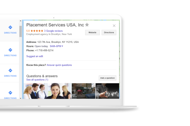 Local SEO for Employment Agencies directories