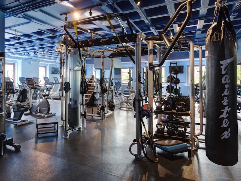 Its important to design a function training area wherein guests and members can exercise and follow the natural pattern layout with purpose and ease.