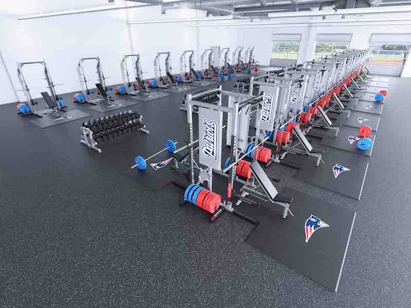 weight room design right view