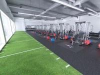 Rubber Flooring In Medical - Weight Room Design ...