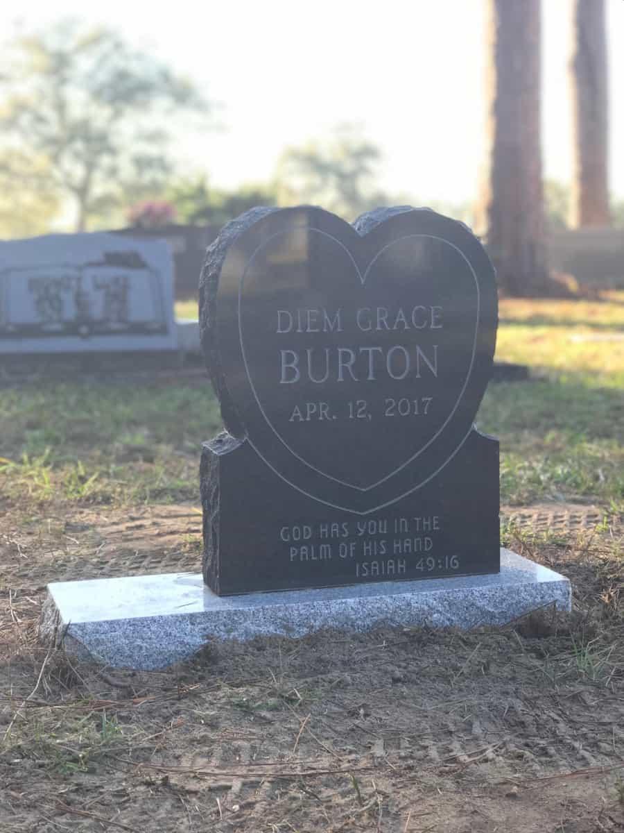 Infant Headstone