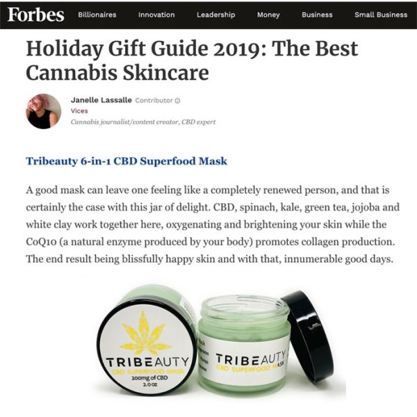 CBD Superfood Mask 6-in-1 for advanced skin care and protection