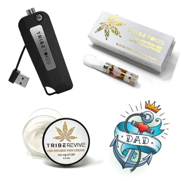 Father's Day CBD Bundle - Silver Saber, Sativa Vape Cartridge & CBD Pain Cream