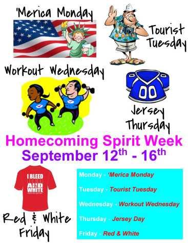 FUHS ASB announces 2016 Homecoming Spirit Week activities
