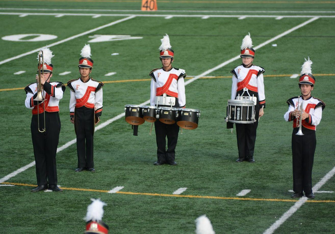 FUHS Marching Band. Photo by Helen Craft.