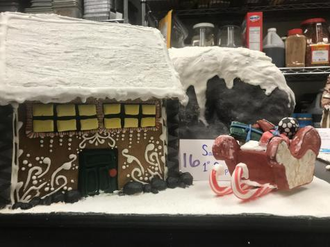 Culinary Arts 2017 Annual Gingerbread House Contest