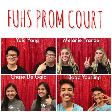 2018 prom court winners