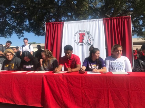FUHS athletes commit to college