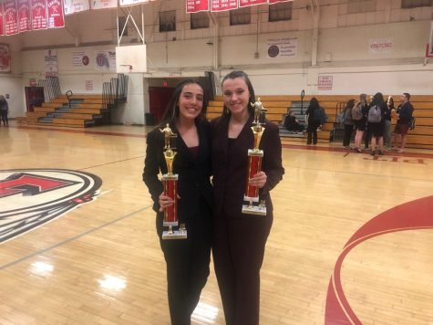 Color Guard Places 4th in Winterguard Competition