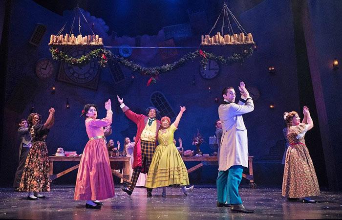 christmas carol zach theatre austin