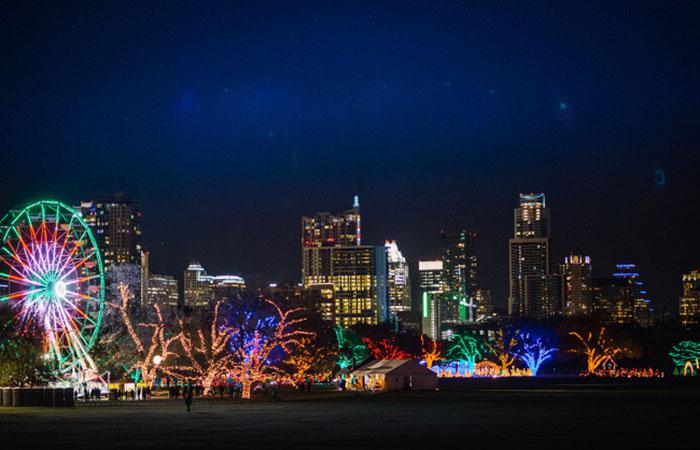 austin trail of lights zilker holiday