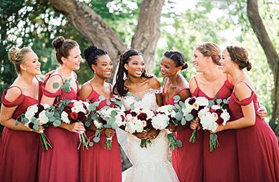 bella bridesmaids austin