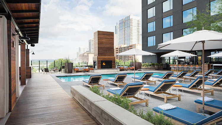 geraldines austin hotel van zandt pool