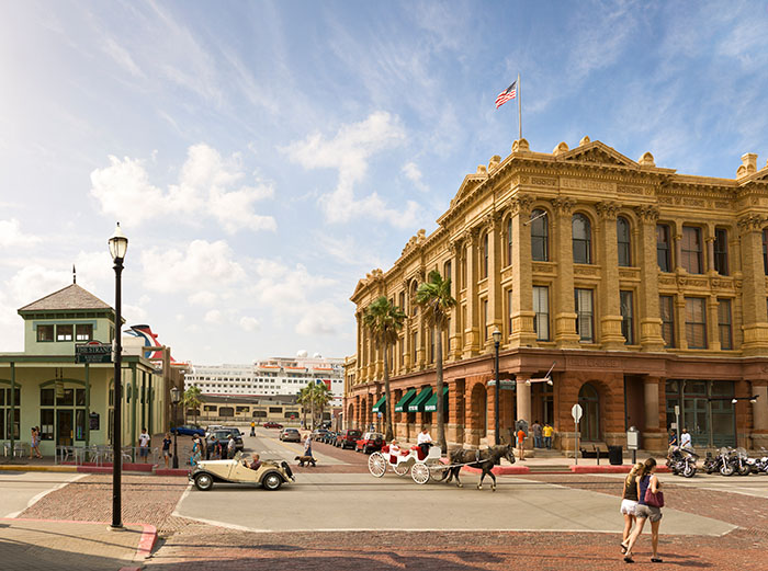 galveston historic travel guide austin