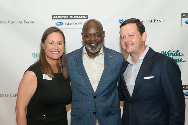 caritas austin words hope emmitt smith social hour tribeza