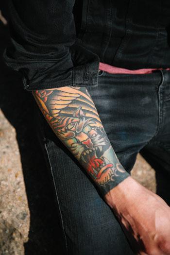 Jessica Arroyo, Daniel Santiesteban, austin, dovetail tattoo west, ideology photography, atx, tribeza