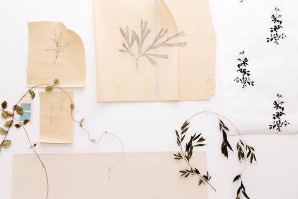 mia carameros, austin, artist, wally workman gallery, painting, plants