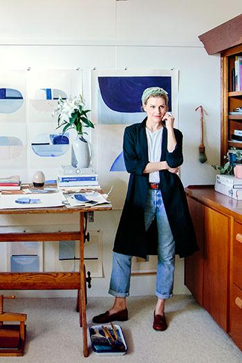 claire oswalt, austin, art, austin artists, home decor